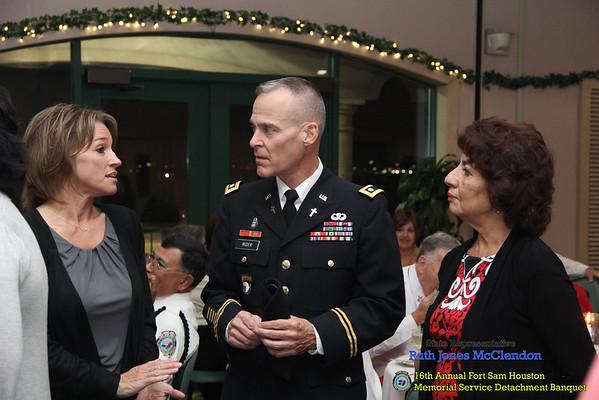 16th Annual Fort Sam Houston Memorial Service Detachment Banquet