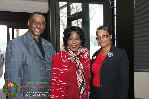 2013 Ruth Jones Mclendon Holiday party @ bank