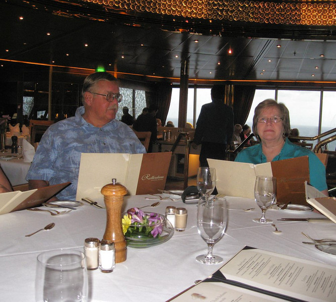 Frank and Linda at the Mariner's Luncheon