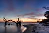 Sunrise at Fort Morgan