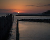Sunrise from Fort Morgan