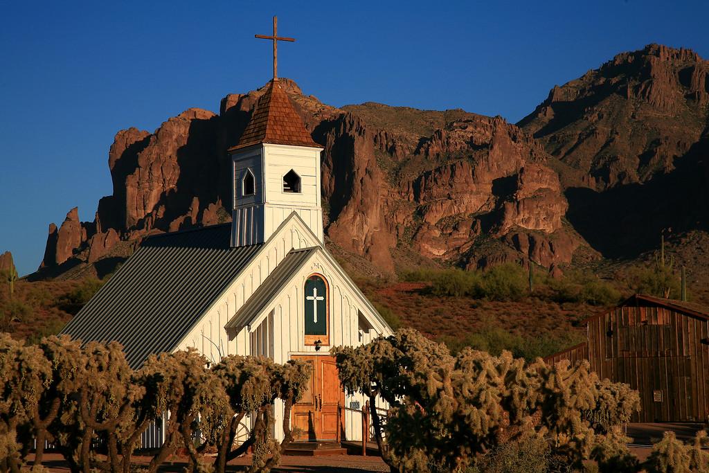 The Elvis Presley Memorial Chapel - Apache Junction, Arizona