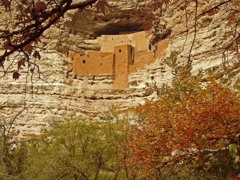 Montezuma's Castle - near Camp Verde, Arizona
