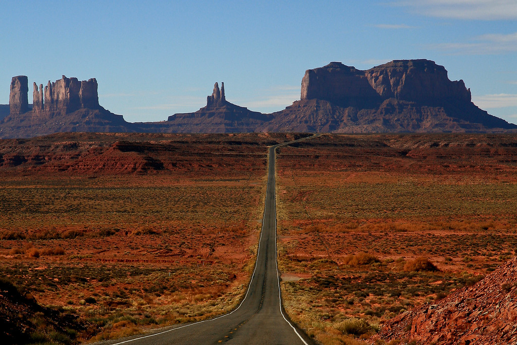 Road to Monument Valley - San Juan County, Utah