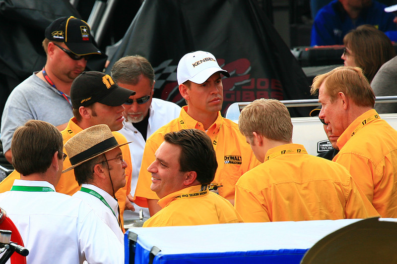 Jack Roush with Team Kenseth