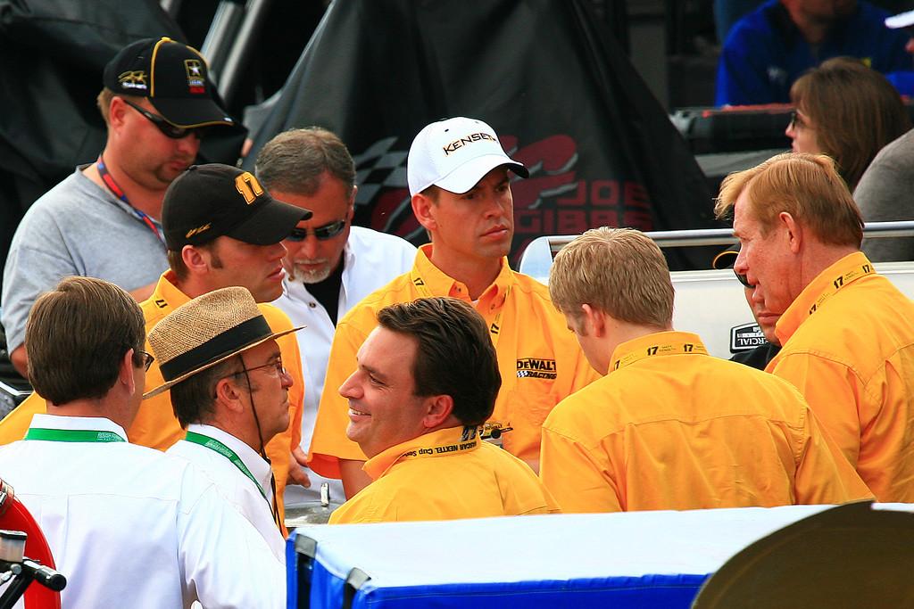 Jack Roush with Team Kenseth