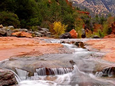 Slide Rock - Oak Creek Canyon, Arizona