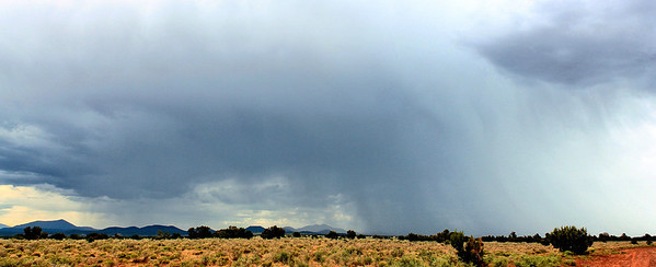 A Desert Monsoon Just South of the Grand Canyon