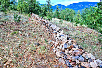 Stone Fence over Flagstaff