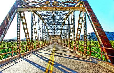 Rural Arizona Bridge