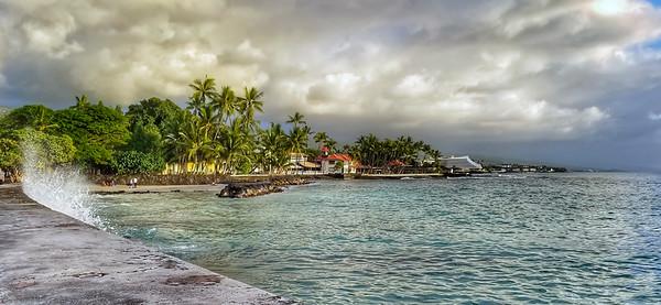 Kailua Kona Seawall