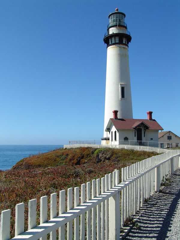 Pigeon Point Lighthouse - Half Moon Bay, California