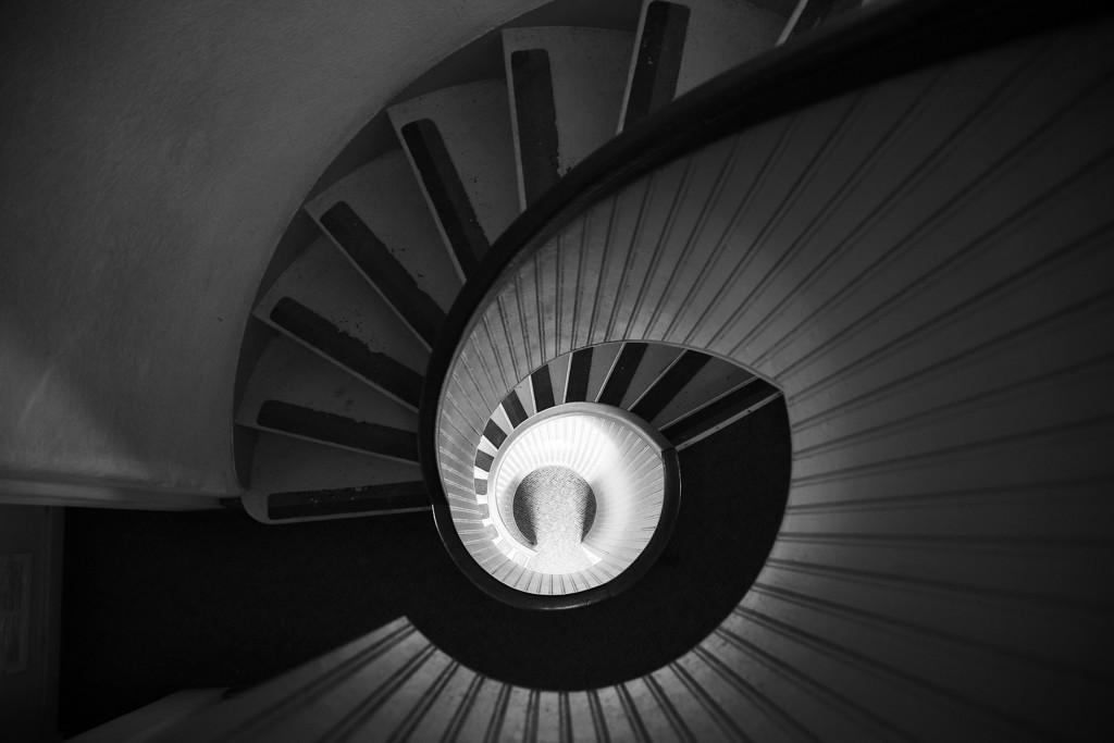 Lighthouse Staircase - San Diego, CA