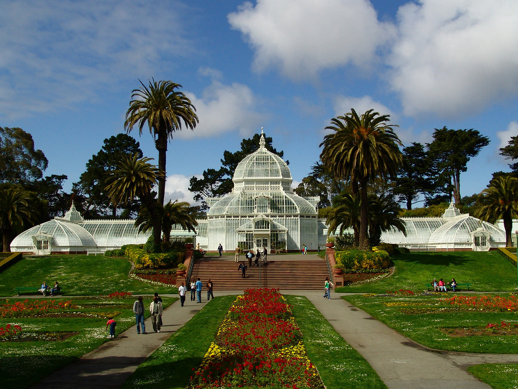 The Conservatory of Flowers - San Francisco, California