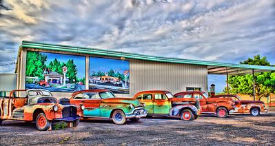 Old Cars in Delta, Colorado