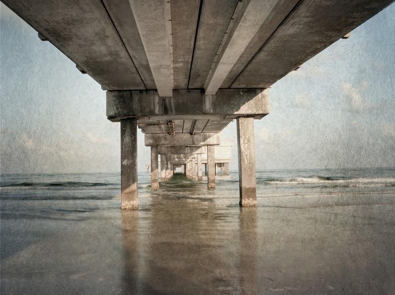 Under A Clearwater Pier