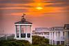 Seaside Florida Sunset at Pensacola Pavilion - 1
