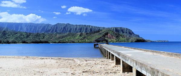 Hanalei Bay Pier - Kauai, Hawaii