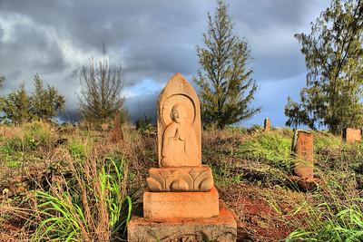Glass Beach Cemetery, Kauai, Hawaii