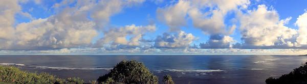 Kauai Ocean View from the cliffs - Kauai, Hawaii