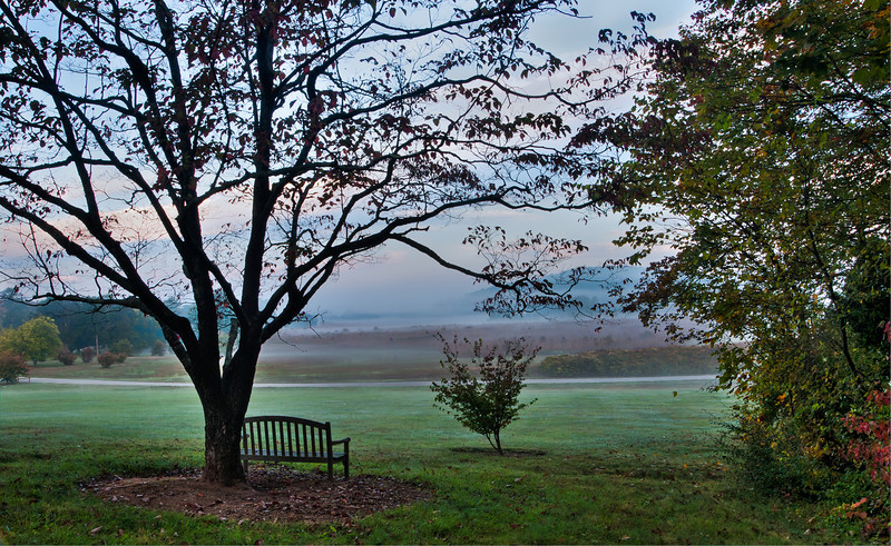 Big Prairie Overlook at Bernheim Arboretum