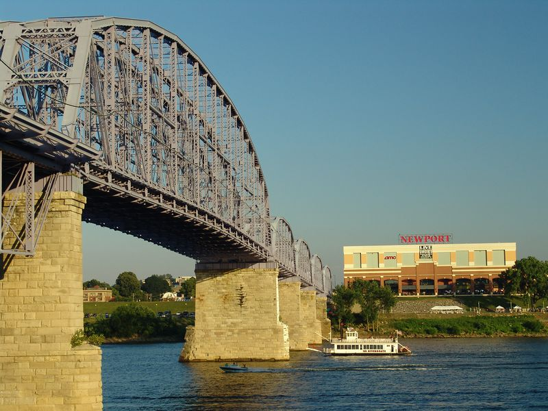 Purple People Bridge - Newport, Kentucky