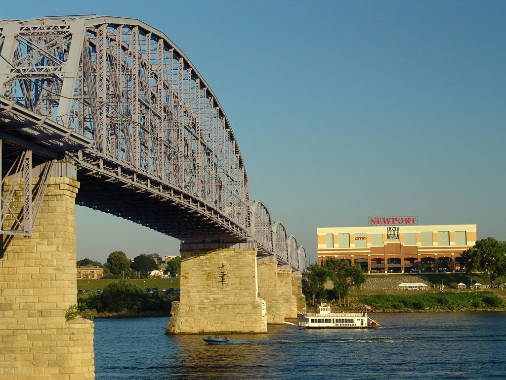 Purple People Bridge - Newport, Kentucky