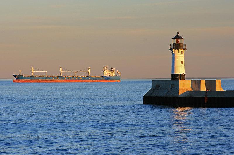 North Breakwater Lighthouse - Duluth, Minnesota
