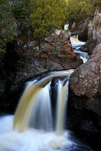Cascade Falls - Lake Superior