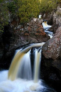 Cascade Falls - Lake Superior