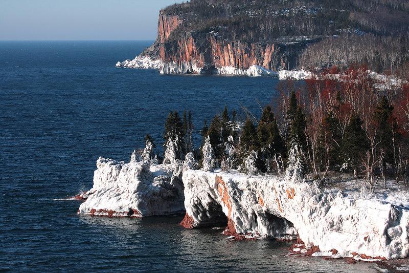 Frozen Shoreline - Lake Superior