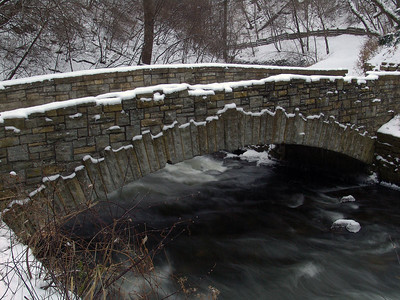 Bridge at Minnehaha Falls - Minneapolis, Minnesota