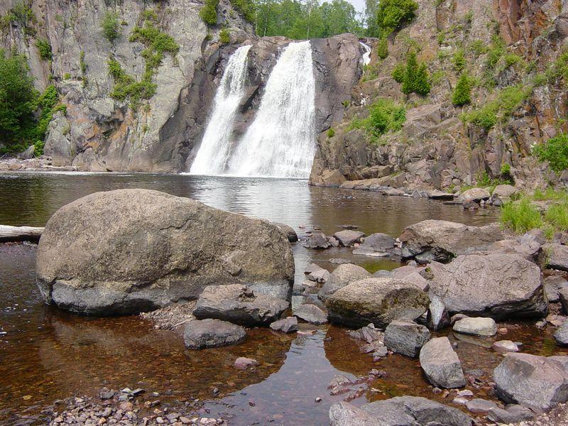 High Falls, Tettegouche State Park near Silver Bay, Minnesota