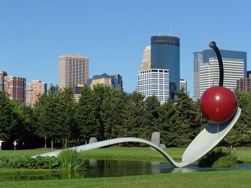 Sculpture Garden - Minneapolis, Minnesota