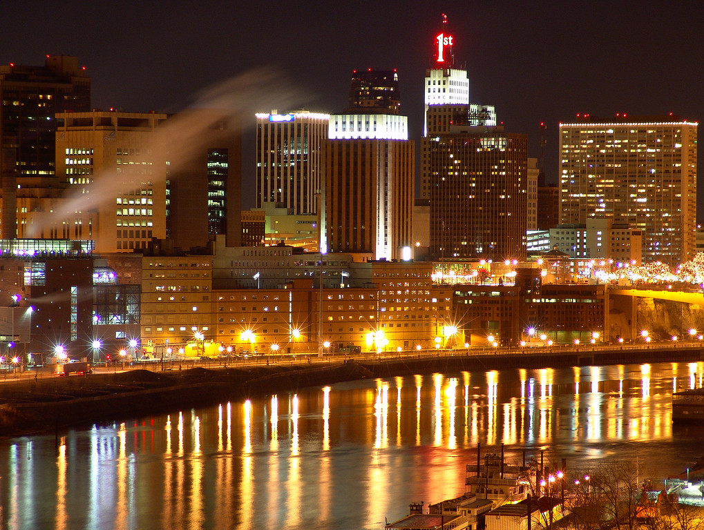Saint Paul at Night - Saint Paul, Minnesota