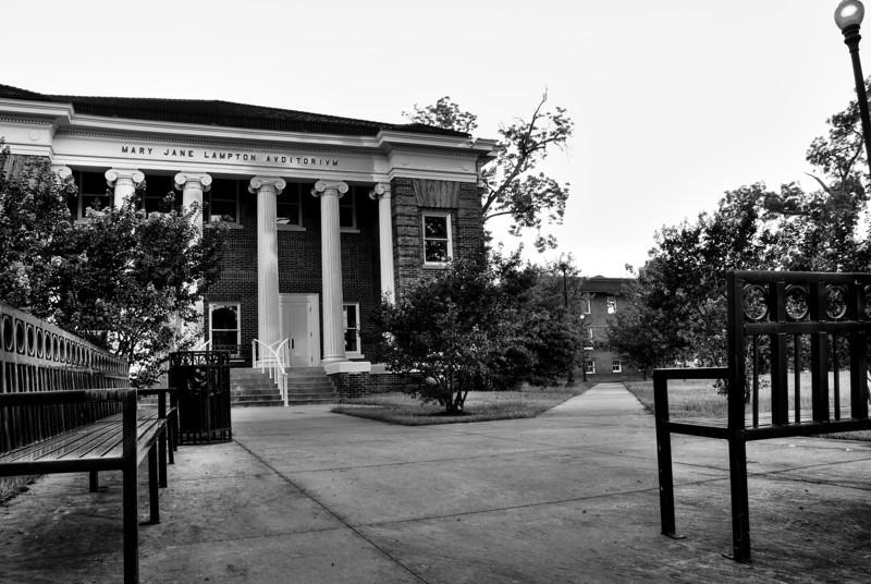 Mary Jane Lampton Auditorium, B&W