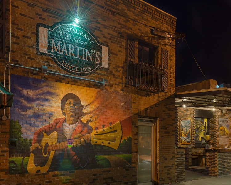 Martin's at Night