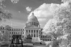 Mississippi Capitol in Infrared