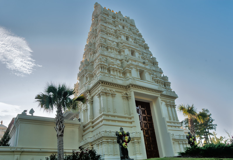 Hindu Temple in Mississippi