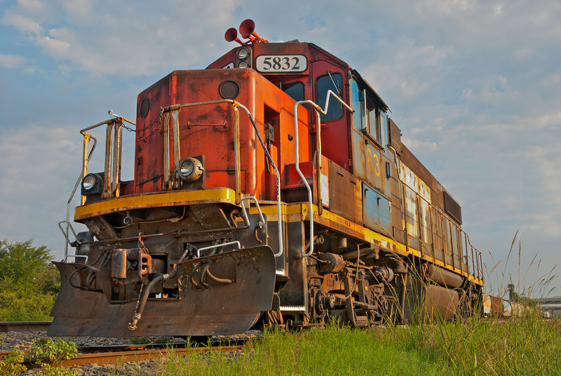 Train Engine in Yazoo City