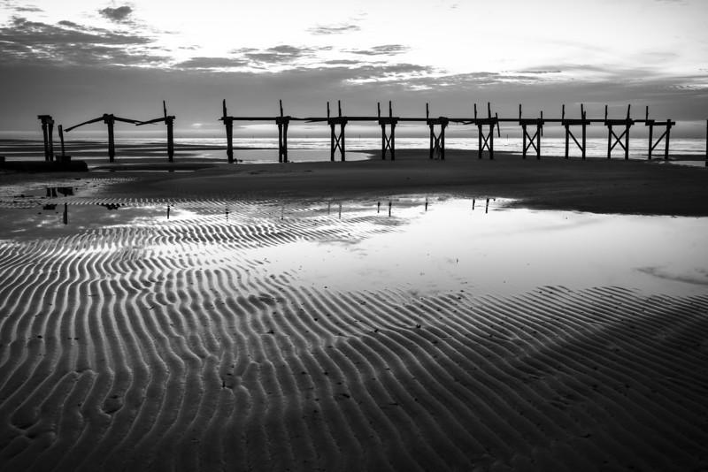 Low Tide Monochrome