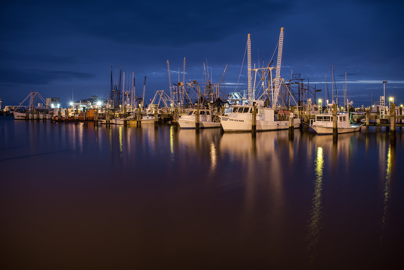 Blue Hour at Long Beach Harbor