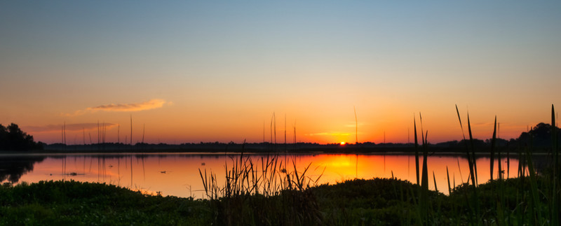 Sunrise Over The Pearl River - Taken at the Pearl River Wildlife Management Area of off Hwy. 43 in Madison County Mississippi.