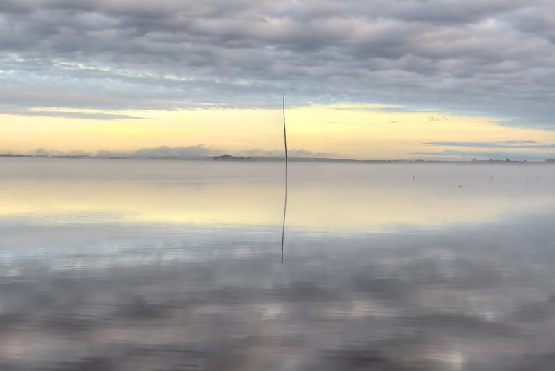 Morning Light over the Reservoir