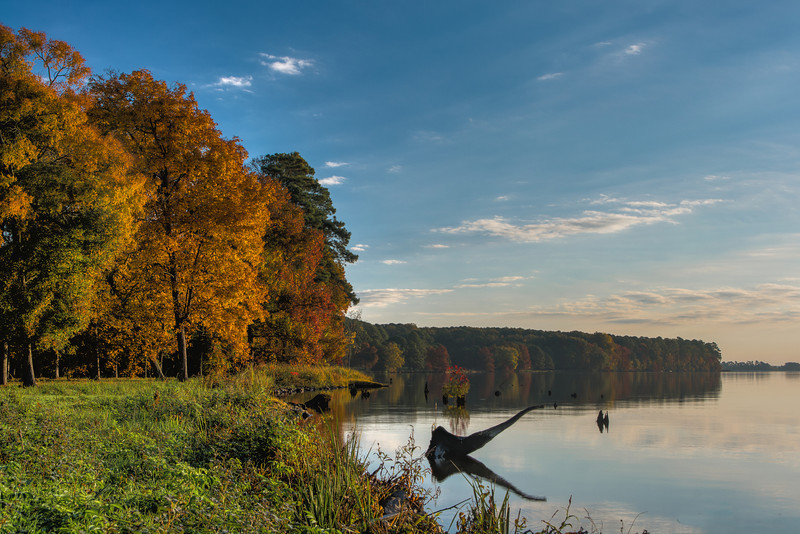 Fall at the Reservoir