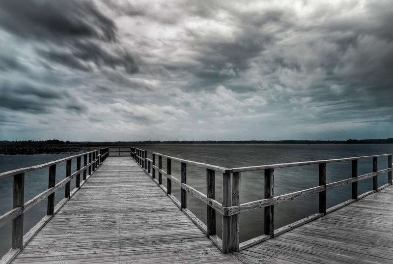 Storm's Coming Monochrome