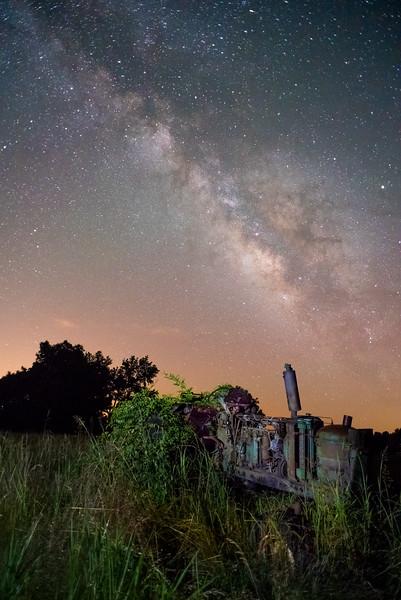 Delta Tractor Milky Way