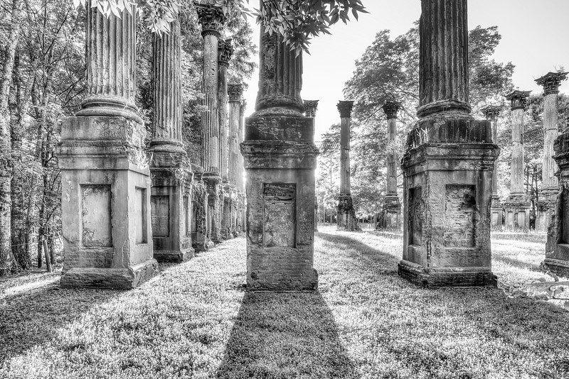 Windsor Columns B&W