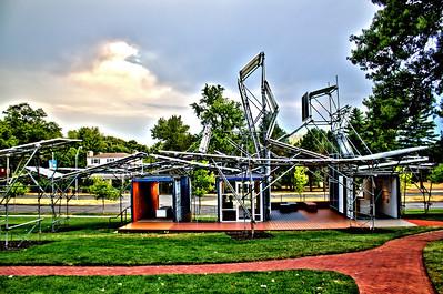 Kansas City Sculpture Park - I have no idea, but I liked it