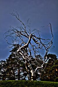 Kansas City Sculpture Park - Metal Tree